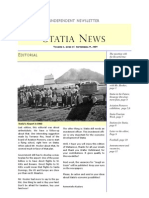 Statia News No. 15