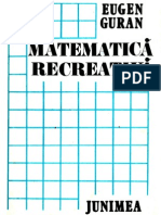 GURAN, Eugen - Matematica Recreativa