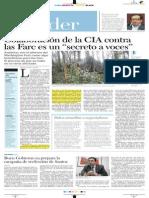 Colaboración de la CIA contra las Farc es un secreto a voces
