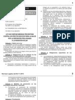 Ley n 30102 Prevencion Por Radiacion Solar
