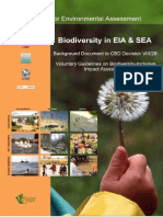 Biodiversity in Eia and Sea IAIA 2006