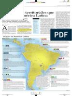 Las disputas territoriales que dividen a América Latina