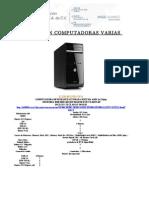 Computadoras Varias Dic 01 .