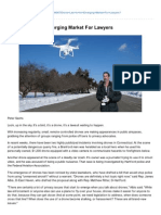 Ctlawtribune.com-Drone Law is an Emerging Market for Lawyers