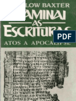 6 J Sidlow Baxter Examinai as Escrituras Atos a Apocalipse