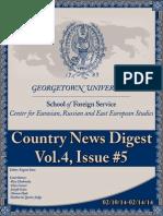CERES News Digest - Week5, Vol.4; Feb.10-14
