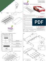 MP 701 Manual Montagem CamaCarrosDisneyStar1A