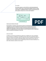Desempeño de sistemas WDM con EDFA