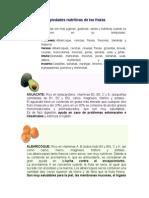 Propiedades nutritivas de las frutas.doc