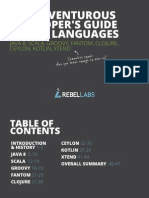 The Adventurous Developers Guide to Jvm Languages