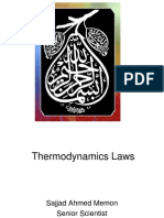 thermodynamics laws modification