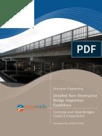 Detailed Non-Destructive Investigation Guidelines for Concrete and Steel Bridges Rev 0