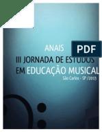 Anais Da III Jeem 2013