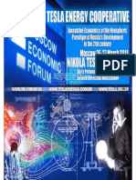 Tesla Energy Cooperative - Moscow Economic Forum 2014
