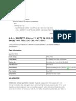 United States v. Barrett, D.C. Colo., 10-CV-02130-RBJ-BNB
