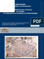 DEfiniciones teoricas urbanismo