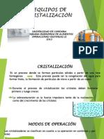 Seminario de Cristalizacion