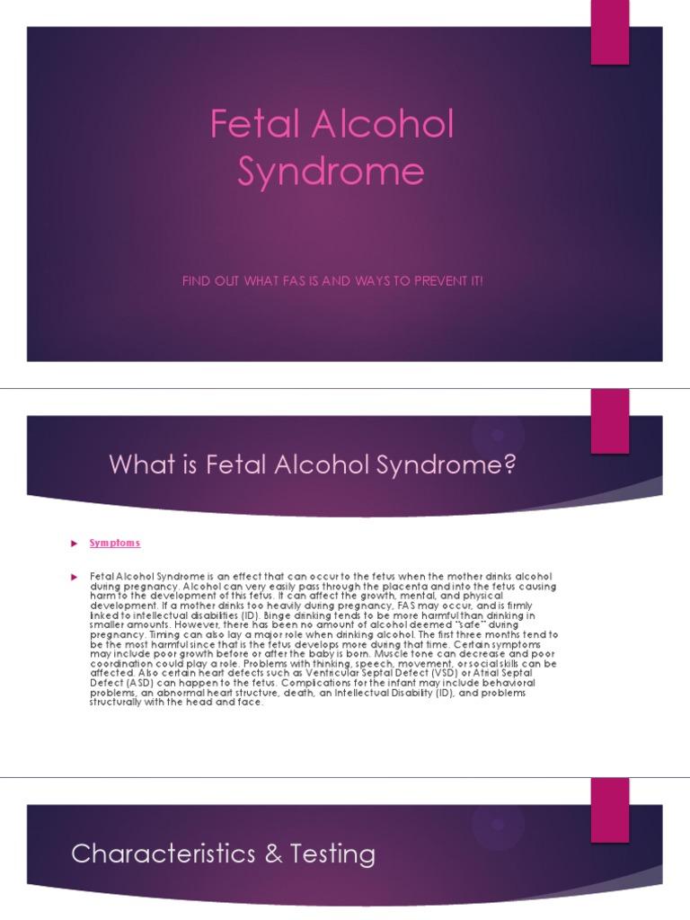 Fetalt alkohol syndrom dating