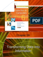 intro ch 05atrnasforming data into information