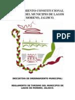 Reglamento de Fomento y Promocion Turistica Lagos