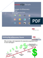 Ediscovery to IT