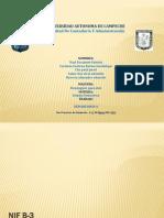 NIF B-3 Estado de Resultados Integral