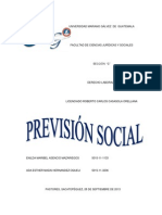 Trabajo Prevision Social, Derecho Del Trabajo II