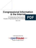 Report of the Open House Project