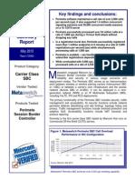 Metaswitch Miercom Perimeta SBC Report