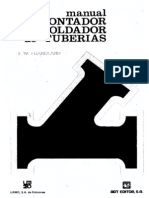 Manual Del Montador de Tuberia