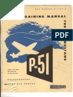 P51D + K Pilot Training AAF Manual-51-127-5, 1945