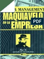 Maquiavelo de La Empresa