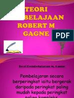 Teori Pembelajaan Robert m Gagne