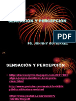 PPT Clase 3 - Sensacion y Percepcion