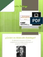 Premio Malcolm Baldrige Diapos