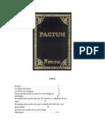 Pactum - A Obra Magistral da Feitiçaria Antiga (Espanhol)
