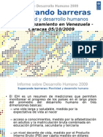 Informe Sobre Desarrollo Humano