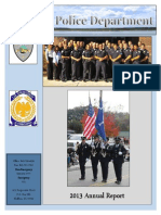 2013 Annual Bluffton Police Department Report