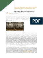 Deficit Tarifa Rio