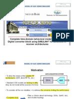 Modelo de ADC Usando Simulink