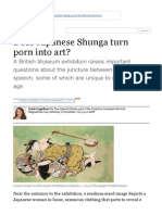 Does Japanese Shunga Turn Porn Into Art_ _ Katie Engelhart _ Comment is Free _ Theguardian