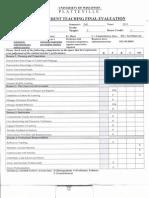 peggys final evaluation