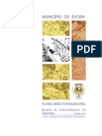 PDM de Évora - Estudos de caracterização do território - Anexo I Caracterização demográfica - 2007