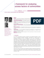 2009 a Systematic Framework for Analysing the CSF of CoPs