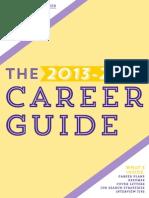 Career Guide Resume 2013