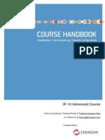 Ceragon IP-10R1 Advanced Course Handbook v4.1