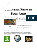 The Illuminati, Nimrod, and the Satan's Agenda │ (Mission Patches) (New World Order) (Tower of Babel) (Illuminati Logos) (UFO Mission Patch) (NWO)