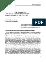 Dader & Fernández - Periodismo de precisión- una nueva metodología para transformar el periodismo