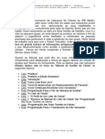 (1) Trein. e Discipulado de Auxiliares de GP Em Devocionais (Pastor Treinador)