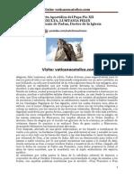 Carta Apostólica del Papa Pío XII EXULTA, LUSITANIA FELIX sobre San Antonio de Padua, Doctor de la Iglesia